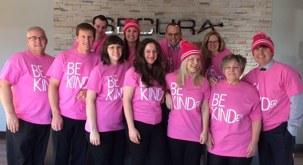 Anti-Bullying Pink Shirt Day