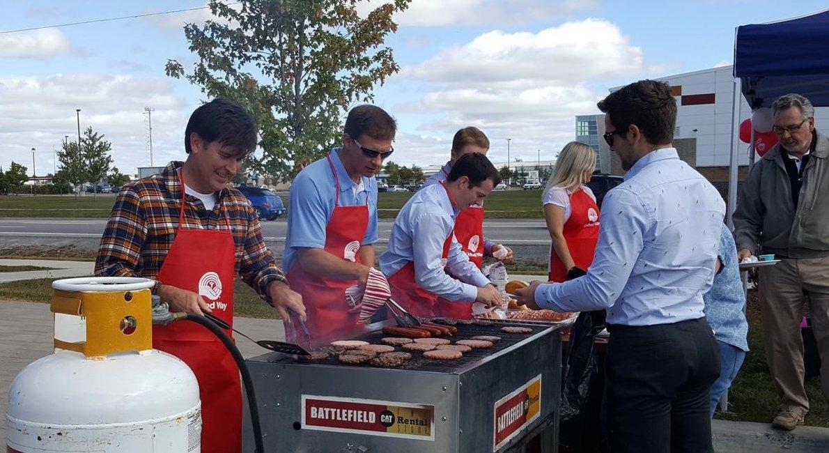 United Way BBQ Fundraiser